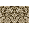 This item: Metallic Gold and Brown Damask Wallpaper - SAMPLE SWATCH ONLY