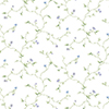 This item: Small Trail Purple, Blue and Green Floral Wallpaper - SAMPLE SWATCH ONLY