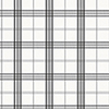 This item: Kitchen Plaid Black and White Wallpaper - SAMPLE SWATCH ONLY