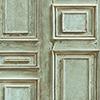 This item: Green Wood Panel Wallpaper