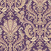 This item: Jacobean Paisley Purple, Metallic Gold and Mauve Wallpaper - SAMPLE SWATCH ONLY