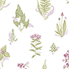 This item: Pink and Green Ferns Wallpaper - SAMPLE SWATCH ONLY