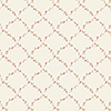 This item: Red Rose Trellis Beige, Red and Green Floral Wallpaper
