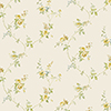 This item: White Wedding Trail Yellow, Green and Blue Floral Wallpaper - SAMPLE SWATCH ONLY