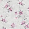 This item: Poppy Pink and Grey Floral Wallpaper - SAMPLE SWATCH ONLY