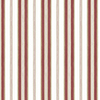 This item: Heritage Stripe Red and Metallic Gold Wallpaper - SAMPLE SWATCH ONLY