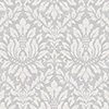 This item: Stitched Damask Grey, Beige and Metallic Silver Wallpaper - SAMPLE SWATCH ONLY