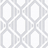 This item: Gatsby Grey and Silver Wallpaper - SAMPLE SWATCH ONLY