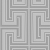 This item: Tease Metallic Silver and Grey Wallpaper - SAMPLE SWATCH ONLY