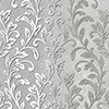 This item: Silver Leaf Damask Black and Grey Wallpaper - SAMPLE SWATCH ONLY