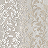 This item: Silver Leaf Damask Grey and Taupe Wallpaper