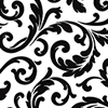 This item: Hyatt Scroll Black and White Wallpaper - SAMPLE SWATCH ONLY