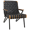 This item: Laramy Black Leather Chair