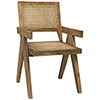 This item: Jude Teak with Caning Chair