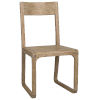 This item: Modal Washed Distressed Mindi 19-Inch Dining Chair