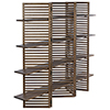 This item: Haru Dark Walnut 94-Inch Bookcase