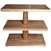 This item: Fatima Dark Walnut Side Table