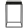This item: Lamar Black Metal 16-Inch Side Table