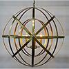 This item: Alchemy Antique Brass Four-Light Chandelier