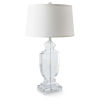 This item: Transparent One-Light 16-Inch Table Lamp With Crystal
