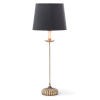 This item: Clove Stem Buffet Antique Gold Leaf One-Light Table Lamp