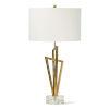 This item: Sydney Gold Leaf One-Light Table Lamp