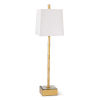 This item: Sarina Gold Leaf One-Light Table Lamp