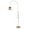 This item: Natural Brass One-Light Floor Lamp