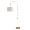 This item: Arc Natural Brass One-Light Floor Lamp