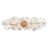 This item: Cheshire Gold Leaf Four-Light Wall Sconce