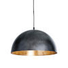 This item: Sigmund Blackened Steel One-Light Pendant