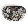 This item: Cheshire Oil Rubbed Bronze Two-Light Flush Mount