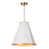 This item: French Maid White One-Light Chandelier