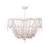 This item: Vanessa White Four-Light Chandelier