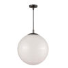 This item: Bistro Oil Rubbed Bronze One-Light 17-Inch Pendant