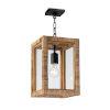 This item: Newport Natural One-Light Lantern Mini Pendant