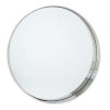 This item: Gunner Polished Nickel Round Wall Mirror