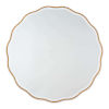 This item: Candice Gold Leaf Wall Mirror