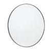 This item: Rowen Blackened Steel Mirror