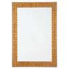 This item: Pantera Gold Leaf Mirror
