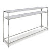 This item: Echelon Polished Nickel Console