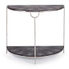 This item: Vogue Shagreen Charcoal Console