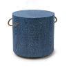 This item: Aegean Indigo Round Side Table
