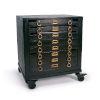 This item: Printmakers Vintage Black Nightstand
