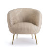 This item: Beretta Cappuccino Leather Chair