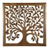 This item: 12 In. Light Brown Solaris Nine Tree of Life Wall Art