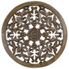 This item: 24-Inch Light Brown Solaris Four Wooden Wall Panel