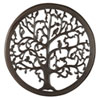 This item: 30 In. Dark Brown Solaris Ten Tree of Life Wall Art