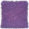 This item: Shagadelic Chenille Twist Purple 27-Inch Double Sided Pillow