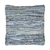 This item: Matador Blue Denim and Leather Chindi Pillow